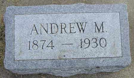ANDERSON, ANDREW M - Lincoln County, South Dakota | ANDREW M ANDERSON - South Dakota Gravestone Photos