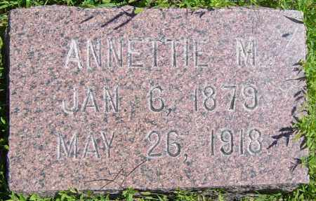 ANDERSON, ANNETTIE M - Lincoln County, South Dakota | ANNETTIE M ANDERSON - South Dakota Gravestone Photos