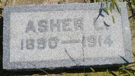 ANDERSON, ASHER L - Lincoln County, South Dakota | ASHER L ANDERSON - South Dakota Gravestone Photos