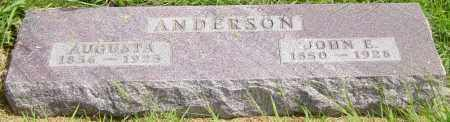 ANDERSON, JOHN E - Lincoln County, South Dakota | JOHN E ANDERSON - South Dakota Gravestone Photos