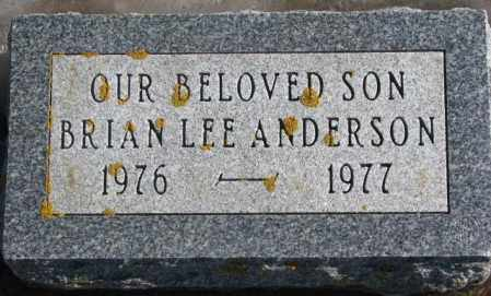 ANDERSON, BRIAN LEE - Lincoln County, South Dakota | BRIAN LEE ANDERSON - South Dakota Gravestone Photos