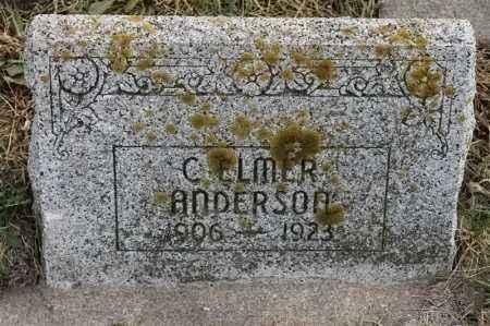 ANDERSON, C ELMER - Lincoln County, South Dakota | C ELMER ANDERSON - South Dakota Gravestone Photos