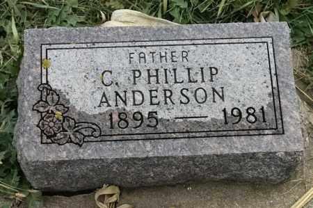 ANDERSON, C PHILLIP - Lincoln County, South Dakota | C PHILLIP ANDERSON - South Dakota Gravestone Photos