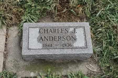 ANDERSON, CHARLES J - Lincoln County, South Dakota | CHARLES J ANDERSON - South Dakota Gravestone Photos