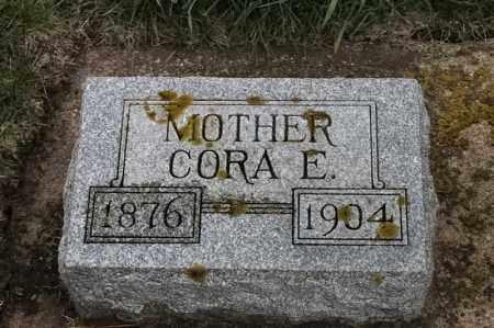 ANDERSON, CORA E - Lincoln County, South Dakota   CORA E ANDERSON - South Dakota Gravestone Photos