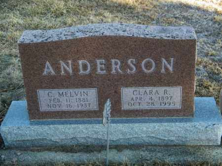 ANDERSON, C MELVIN - Lincoln County, South Dakota | C MELVIN ANDERSON - South Dakota Gravestone Photos