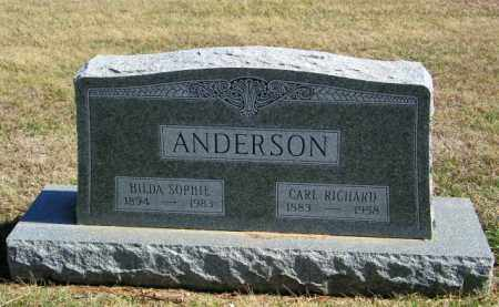 ANDERSON, CARL RICHARD - Lincoln County, South Dakota | CARL RICHARD ANDERSON - South Dakota Gravestone Photos