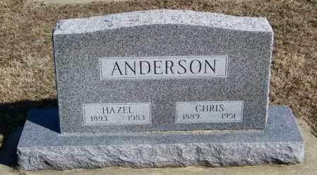 ANDERSON, CHRIS - Lincoln County, South Dakota   CHRIS ANDERSON - South Dakota Gravestone Photos