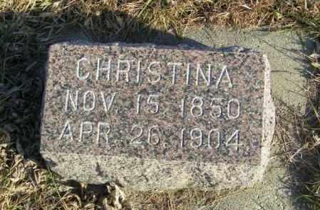 ANDERSON, CHRISTINA - Lincoln County, South Dakota | CHRISTINA ANDERSON - South Dakota Gravestone Photos