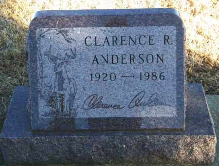 ANDERSON, CLARENCE R - Lincoln County, South Dakota | CLARENCE R ANDERSON - South Dakota Gravestone Photos