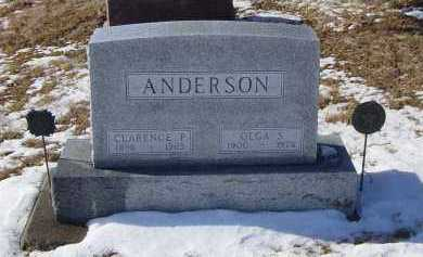 ANDERSON, CLARENCE P - Lincoln County, South Dakota | CLARENCE P ANDERSON - South Dakota Gravestone Photos