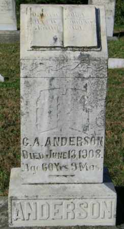 ANDERSON, G. A. - Lincoln County, South Dakota | G. A. ANDERSON - South Dakota Gravestone Photos
