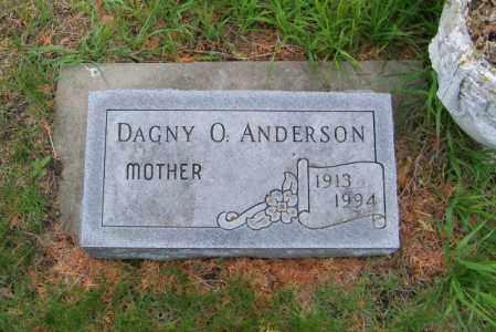 ANDERSON, DAGNY O - Lincoln County, South Dakota | DAGNY O ANDERSON - South Dakota Gravestone Photos