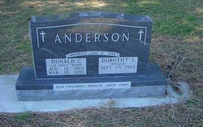 ANDERSON, DOROTHY - Lincoln County, South Dakota | DOROTHY ANDERSON - South Dakota Gravestone Photos