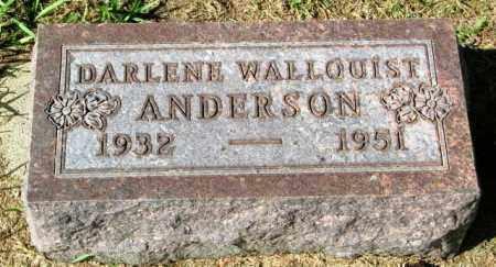 ANDERSON, DARLENE - Lincoln County, South Dakota | DARLENE ANDERSON - South Dakota Gravestone Photos