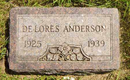 ANDERSON, DELORES - Lincoln County, South Dakota | DELORES ANDERSON - South Dakota Gravestone Photos