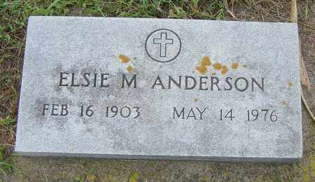 ANDERSON, ELSIE M - Lincoln County, South Dakota | ELSIE M ANDERSON - South Dakota Gravestone Photos