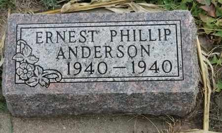 ANDERSON, ERNEST PHILLIP - Lincoln County, South Dakota | ERNEST PHILLIP ANDERSON - South Dakota Gravestone Photos