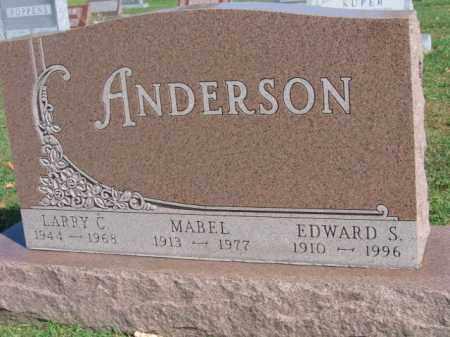 ANDERSON, EDWARD S - Lincoln County, South Dakota | EDWARD S ANDERSON - South Dakota Gravestone Photos