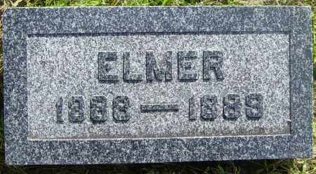 ANDERSON, ELMER - Lincoln County, South Dakota | ELMER ANDERSON - South Dakota Gravestone Photos