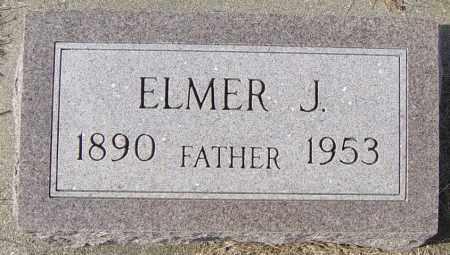ANDERSON, ELMER J - Lincoln County, South Dakota | ELMER J ANDERSON - South Dakota Gravestone Photos