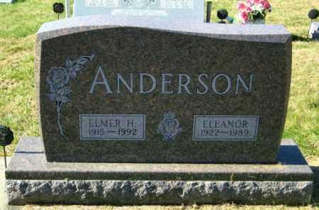 ANDERSON, ELMER H - Lincoln County, South Dakota | ELMER H ANDERSON - South Dakota Gravestone Photos