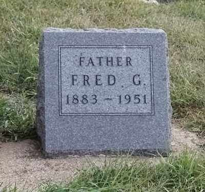 ANDERSON, FRED G - Lincoln County, South Dakota | FRED G ANDERSON - South Dakota Gravestone Photos