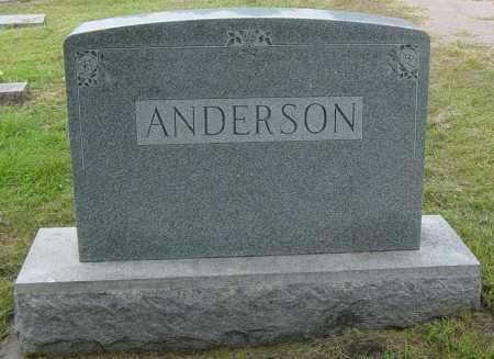 ANDERSON, FAMILY MEMORIAL - Lincoln County, South Dakota   FAMILY MEMORIAL ANDERSON - South Dakota Gravestone Photos