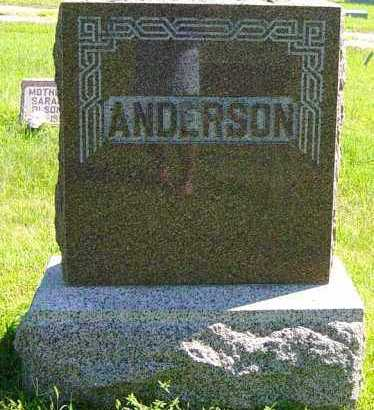 ANDERSON, FAMILY MEMORIAL - Lincoln County, South Dakota | FAMILY MEMORIAL ANDERSON - South Dakota Gravestone Photos