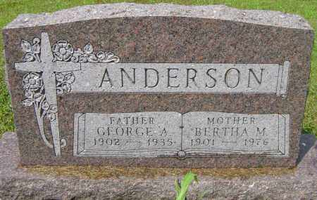 ANDERSON, BERTHA M - Lincoln County, South Dakota | BERTHA M ANDERSON - South Dakota Gravestone Photos