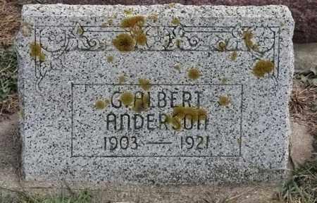 ANDERSON, G ALBERT - Lincoln County, South Dakota | G ALBERT ANDERSON - South Dakota Gravestone Photos