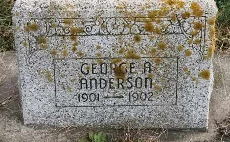 ANDERSON, GEORGE A - Lincoln County, South Dakota   GEORGE A ANDERSON - South Dakota Gravestone Photos