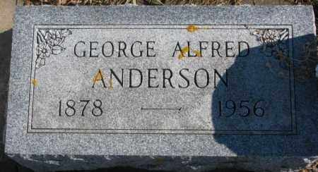 ANDERSON, GEORGE ALFRED - Lincoln County, South Dakota | GEORGE ALFRED ANDERSON - South Dakota Gravestone Photos