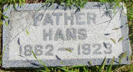 ANDERSON, HANS - Lincoln County, South Dakota | HANS ANDERSON - South Dakota Gravestone Photos