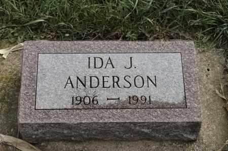 ANDERSON, IDA J - Lincoln County, South Dakota | IDA J ANDERSON - South Dakota Gravestone Photos