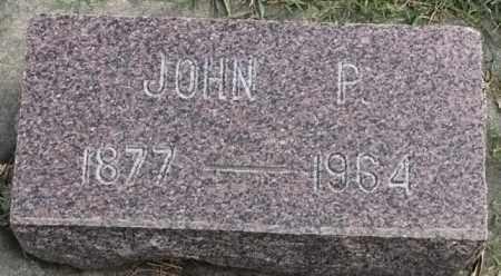 ANDERSON, JOHN P - Lincoln County, South Dakota | JOHN P ANDERSON - South Dakota Gravestone Photos