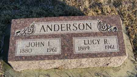 ANDERSON, LUCY R - Lincoln County, South Dakota | LUCY R ANDERSON - South Dakota Gravestone Photos