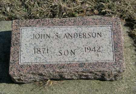 ANDERSON, JOHN S - Lincoln County, South Dakota   JOHN S ANDERSON - South Dakota Gravestone Photos