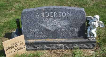 ANDERSON, JOHN W - Lincoln County, South Dakota | JOHN W ANDERSON - South Dakota Gravestone Photos