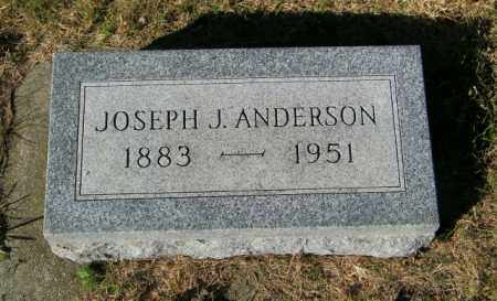ANDERSON, JOSEPH J - Lincoln County, South Dakota | JOSEPH J ANDERSON - South Dakota Gravestone Photos