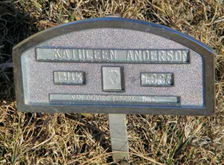 ANDERSON, KATHLEEN - Lincoln County, South Dakota | KATHLEEN ANDERSON - South Dakota Gravestone Photos