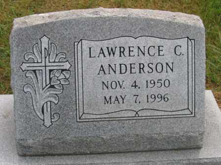 ANDERSON, LAWRENCE C - Lincoln County, South Dakota | LAWRENCE C ANDERSON - South Dakota Gravestone Photos