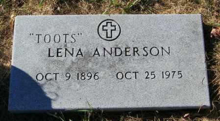 ANDERSON, LENA - Lincoln County, South Dakota | LENA ANDERSON - South Dakota Gravestone Photos