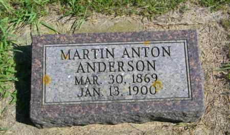 ANDERSON, MARTIN ANTON - Lincoln County, South Dakota | MARTIN ANTON ANDERSON - South Dakota Gravestone Photos