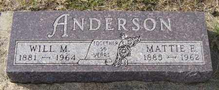 ANDERSON, WILL M - Lincoln County, South Dakota | WILL M ANDERSON - South Dakota Gravestone Photos