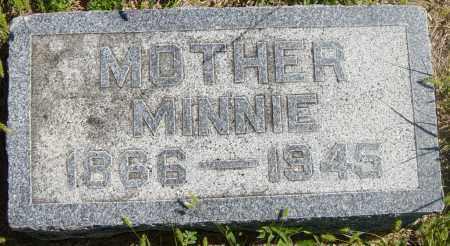 ANDERSON, MINNIE - Lincoln County, South Dakota | MINNIE ANDERSON - South Dakota Gravestone Photos