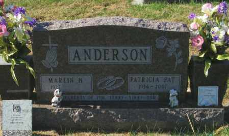 """ANDERSON, PATRICIA """"PAT"""" - Lincoln County, South Dakota 
