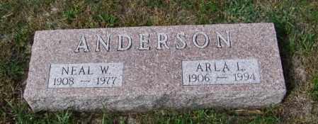 ANDERSON, ARLA L - Lincoln County, South Dakota | ARLA L ANDERSON - South Dakota Gravestone Photos