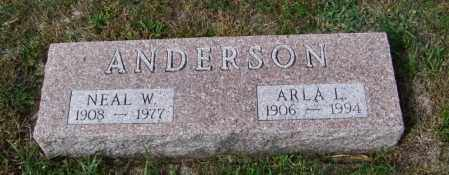 ANDERSON, NEAL W - Lincoln County, South Dakota | NEAL W ANDERSON - South Dakota Gravestone Photos
