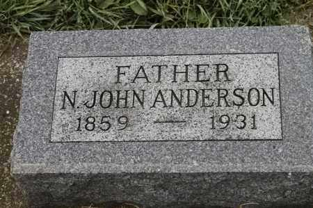 ANDERSON, N JOHN - Lincoln County, South Dakota | N JOHN ANDERSON - South Dakota Gravestone Photos